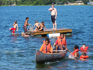 Water Sports at Camp Tamarack